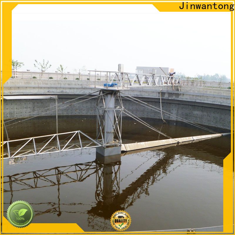 Jinwantong half bridge scrapers with good price for final sedimentation tank