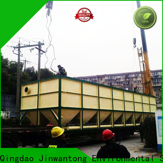 Jinwantong lamella clarifier design for business for food industry