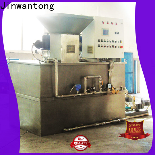 Jinwantong chemical dosing wholesale for powdered and liquid chemicals