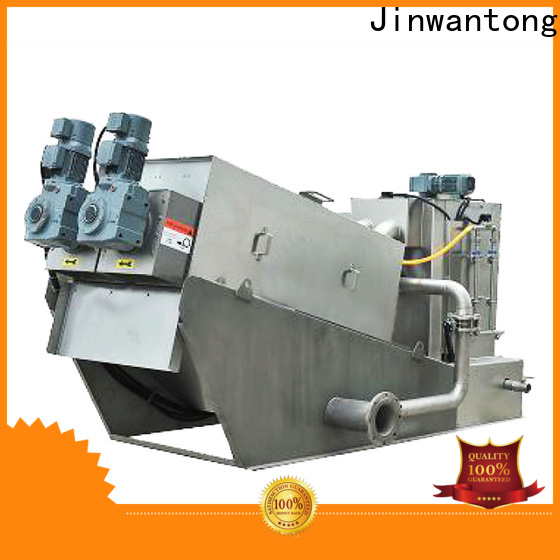 Jinwantong real sludge dewatering equipment suppliers for resource recovery