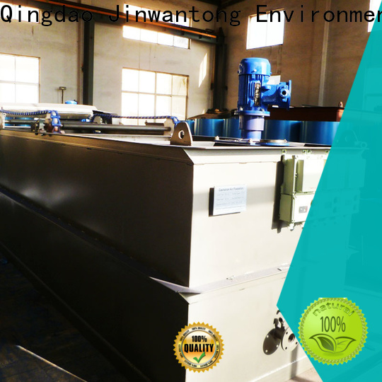 Jinwantong industrial wastewater treatment equipment suppliers for oil remove