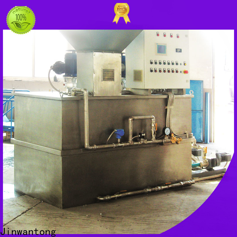 reliable chemical dosing system water treatment plant directly sale for powdered and liquid chemicals