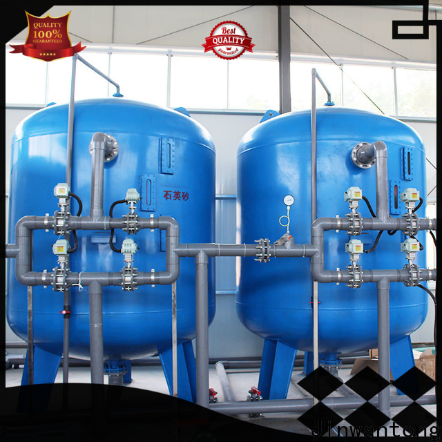 Jinwantong high-quality sand filter water treatment customized for ground water purification