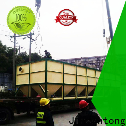 Jinwantong inclined plate clarifier design manufacturers for chemical waste water