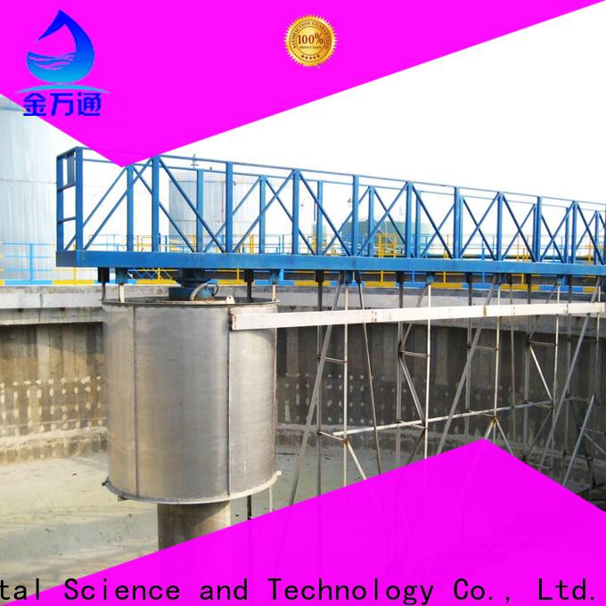 Jinwantong sludge scraper system customized for final sedimentation tank