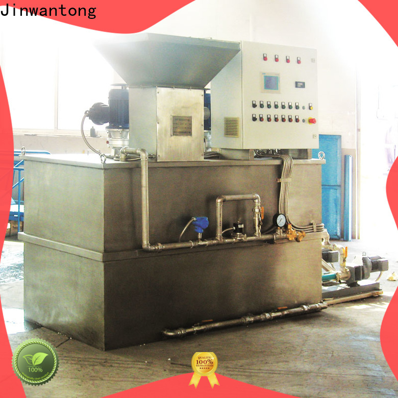 Jinwantong chemical dosing system design wholesale for powdered and liquid chemicals