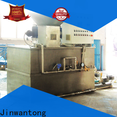 Jinwantong chemical dosing in water treatment plant factory for mix water and chemicals