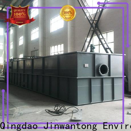 Jinwantong custom daf unit water treatment factory for slaughterhouse