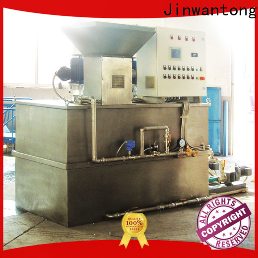 Jinwantong chemical dosing system design manufacturers for powdered and liquid chemicals
