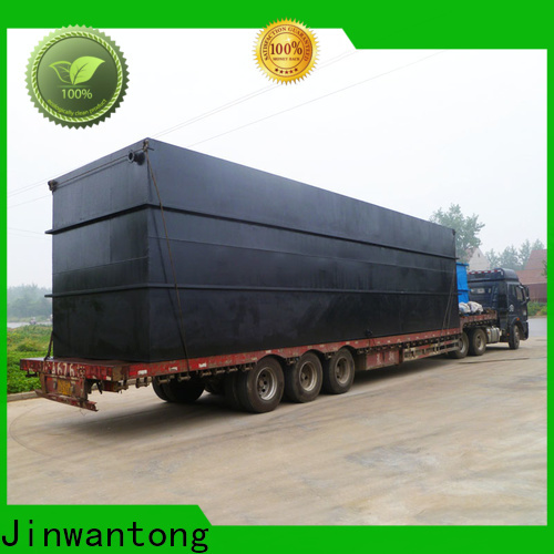 Jinwantong convenient package sewage treatment plant series for oilfield labor camp