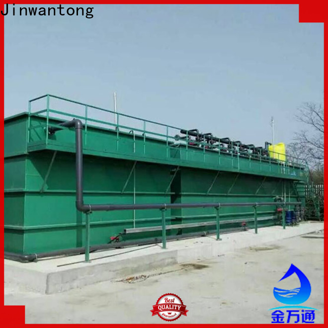 Jinwantong mbr membrane bioreactor for business for mining industry