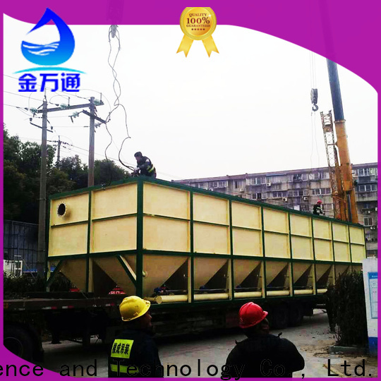 custom sedimentation tank from China for food industry