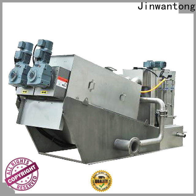 Jinwantong real sludge dewatering machine manufacturers for wineries