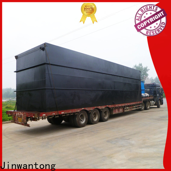 high-quality best domestic sewage treatment plant for business for oilfield labor camp