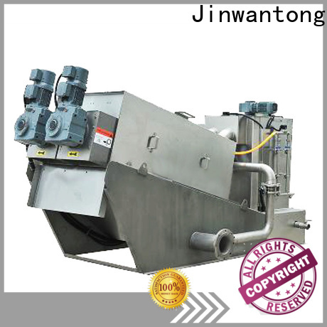 Jinwantong real dewatering machine for sludge treatment suppliers for resource recovery