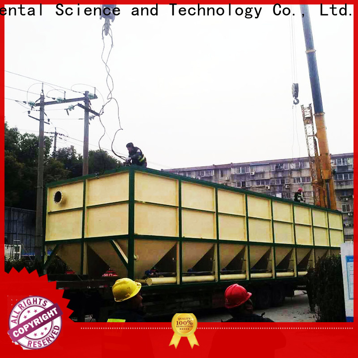 New inclined plate settler company for heavy metal remove