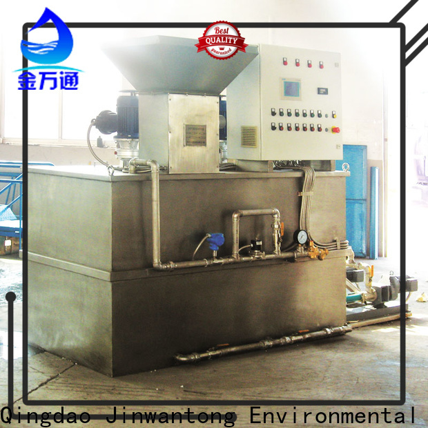Jinwantong top chemical dosing system water treatment plant series for powdered and liquid chemicals