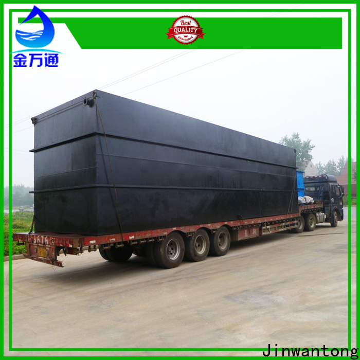 Jinwantong best domestic sewage treatment plant for business for hospital