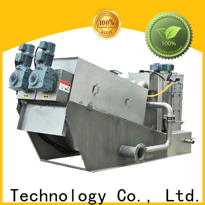 New sludge dewatering equipment wastewater factory for solid-liquid separation