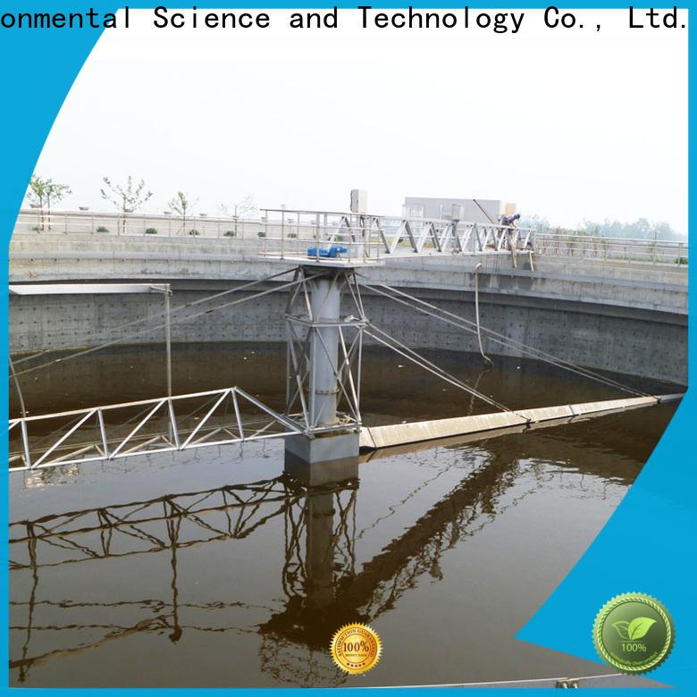 Jinwantong top peripheral drive sludge scraper company for final sedimentation tank