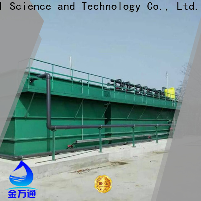 Jinwantong latest mbr membrane bioreactor customized for paper industry