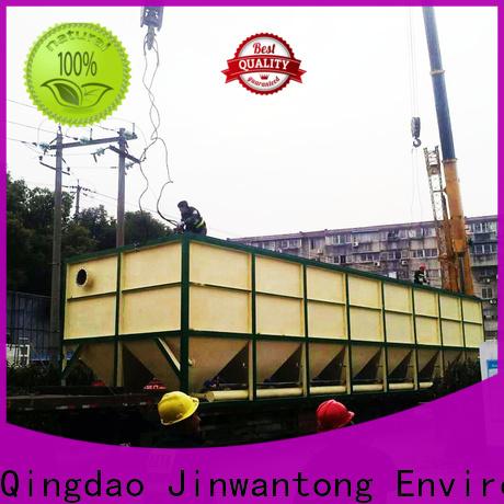 Jinwantong lamella settler design factory for chemical waste water