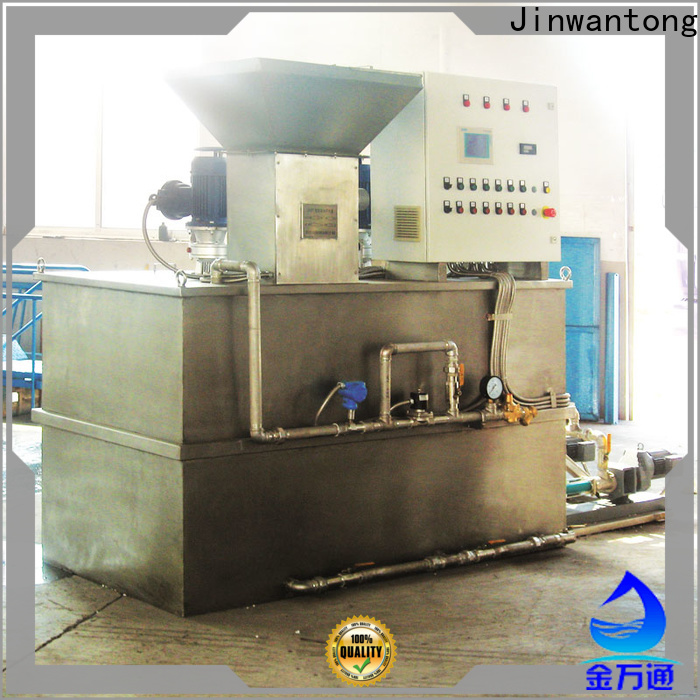 Jinwantong best chemical dosing equipment company for mix water and chemicals