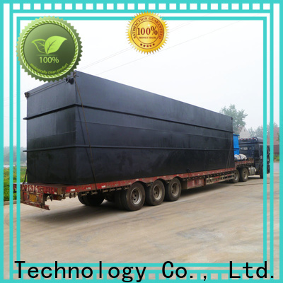 Jinwantong package wastewater treatment plant manufacturer directly sale for residential quarter