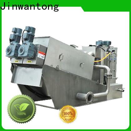 Jinwantong screw press sludge dehydrator factory for wineries
