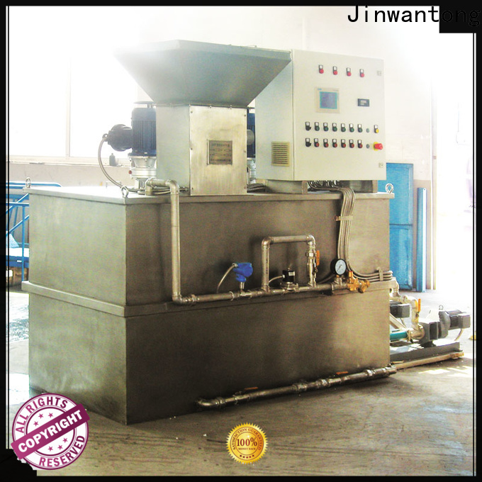 Jinwantong top chemical dosing equipment wholesale for powdered and liquid chemicals