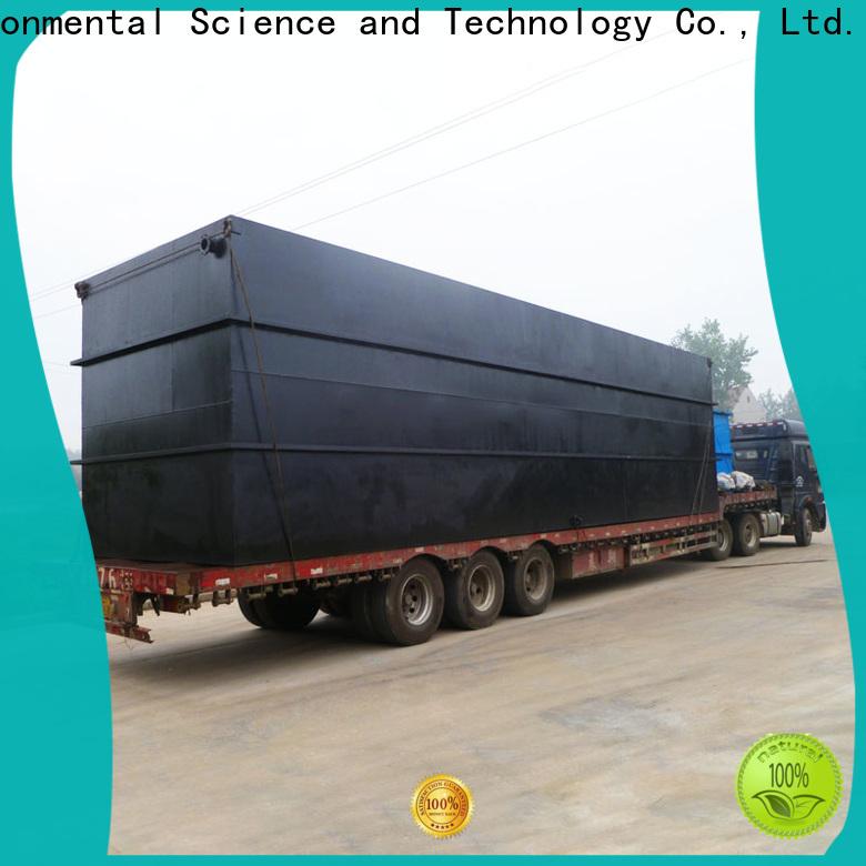 Jinwantong best domestic sewage treatment plant company for hospital
