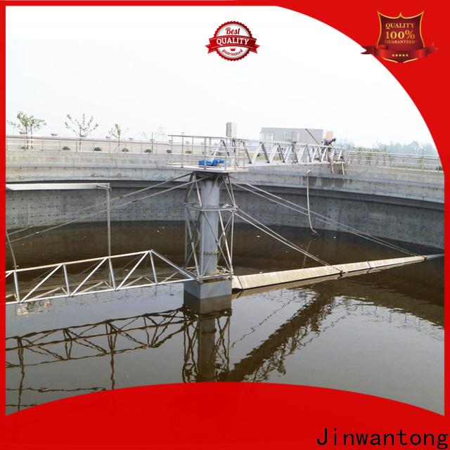 Jinwantong half bridge scrapers company for final sedimentation tank