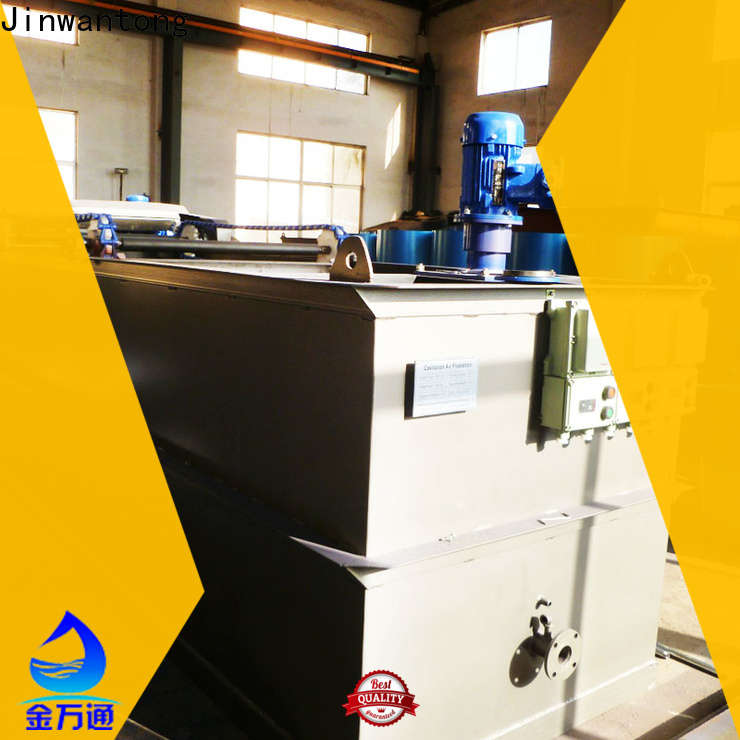 Jinwantong professional cavitation air flotation supplier directly sale for oil remove