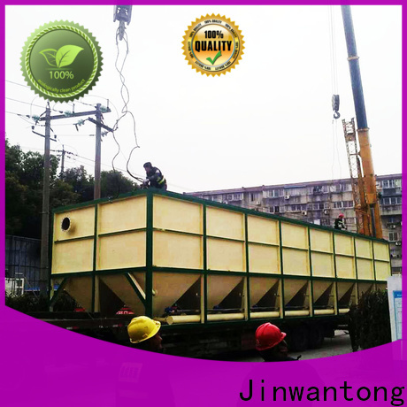 Jinwantong best inclined plate clarifier design factory for chemical waste water