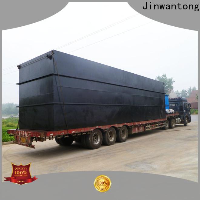 Jinwantong convenient sewage treatment wholesale for oilfield labor camp