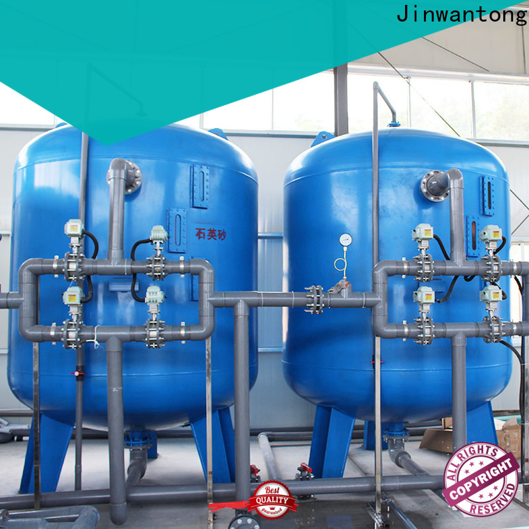 Jinwantong sand filter design suppliers for ground water purification