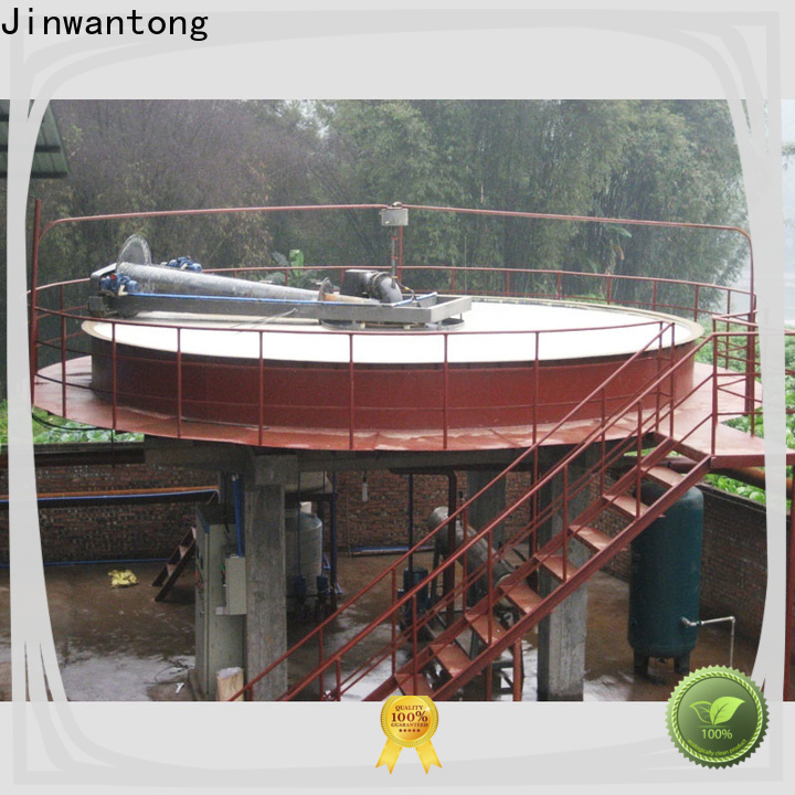 Jinwantong cost-effective industrial wastewater treatment companies suppliers for secondary clarification