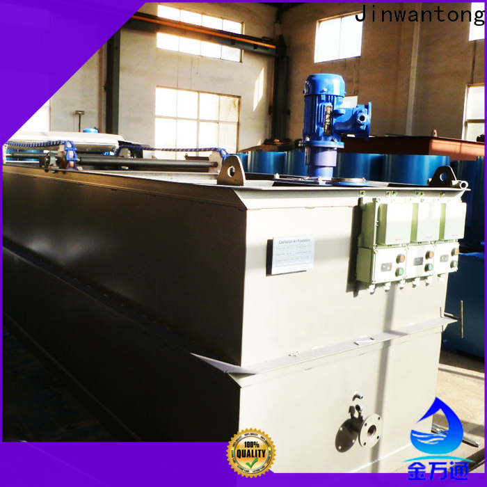 Jinwantong New Wastewater Treatment Plant Equipment with good price for oil remove