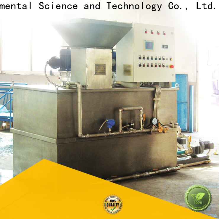 Jinwantong sewage treatment plant chemical dosing with good price for powdered and liquid chemicals