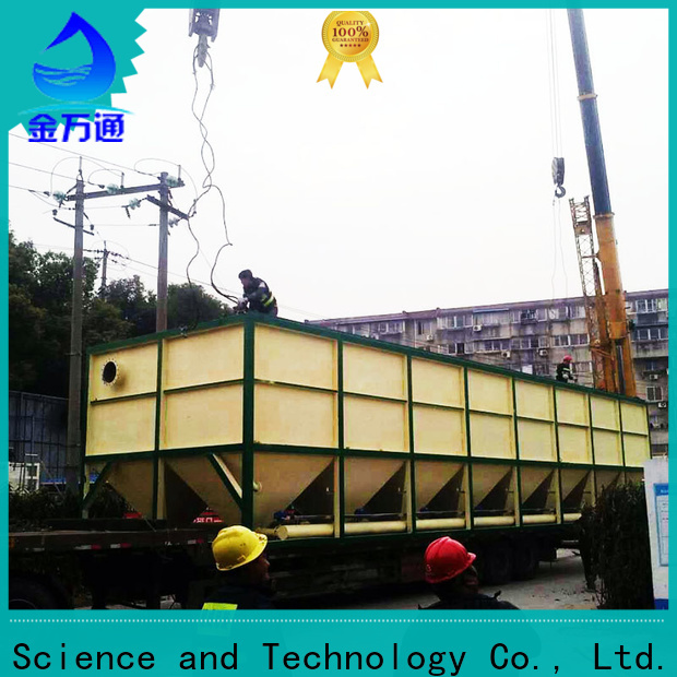 Jinwantong latest inclined plate clarifier manufacturers for food industry