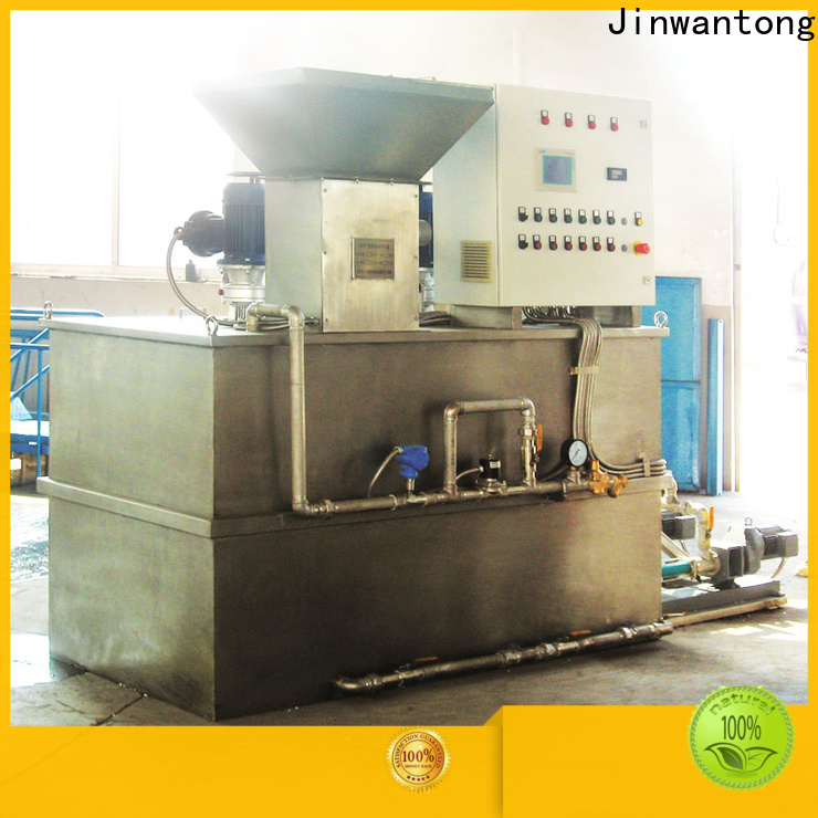 Jinwantong wholesale chemical dosing equipment company for mix water and chemicals