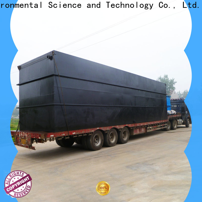 stable package type sewage treatment plant for business for oilfield labor camp