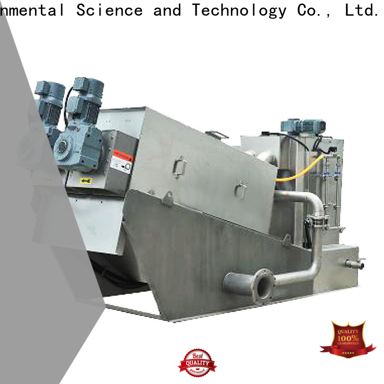 best sludge dewatering plant manufacturers for solid-liquid separation