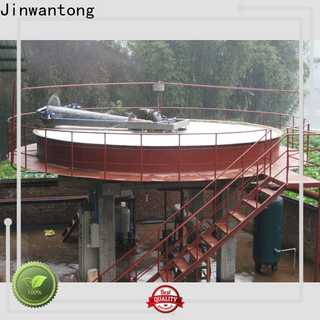 latest circular daf clarifier directly sale for fiber recovery