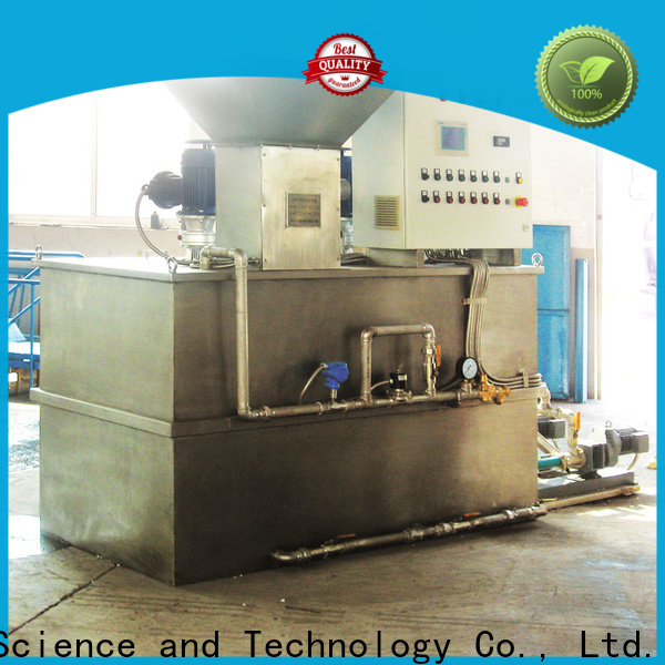 wholesale chemical dosing system water treatment plant supply for powdered and liquid chemicals