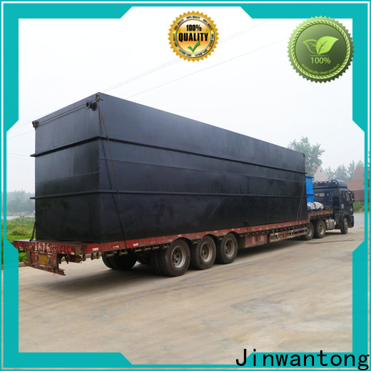 custom small package sewage treatment plant series for hotel