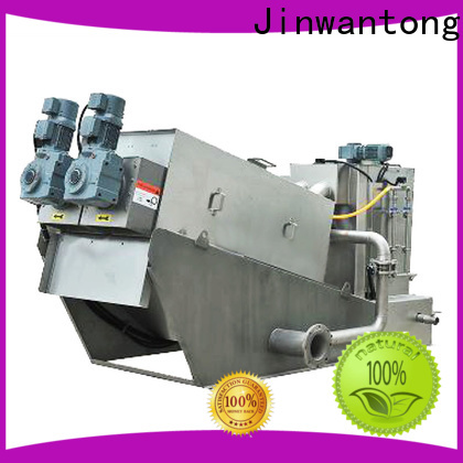 Jinwantong latest screw press dewatering machine manufacturers for wineries