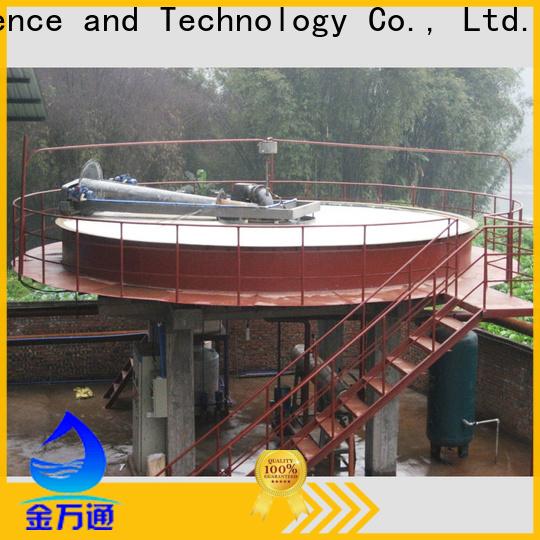 Jinwantong circular daf clarifier factory for secondary clarification