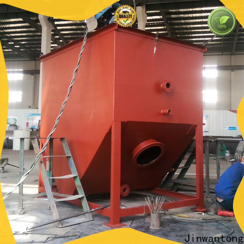 Jinwantong corrugated plate separator factory fpr refinery effluents