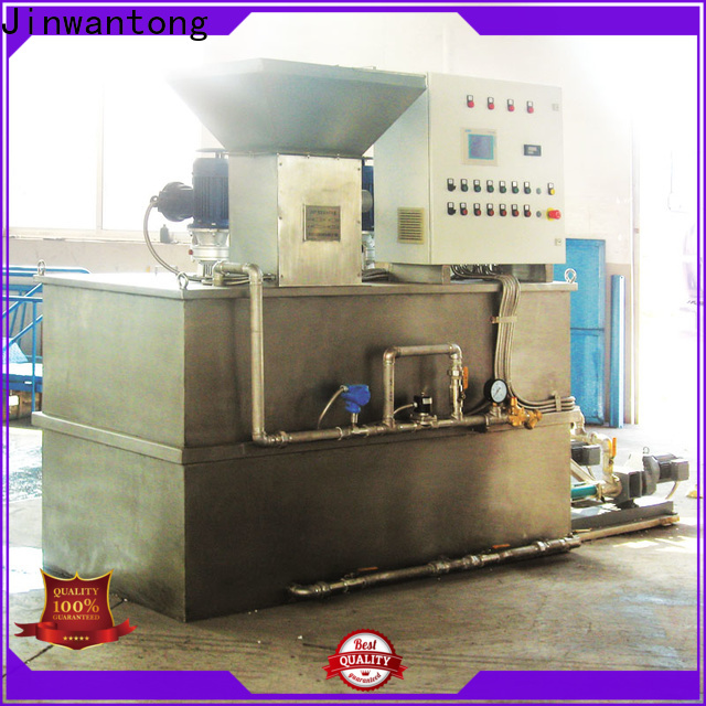 Jinwantong custom automatic chemical dosing system wholesale for mix water and chemicals